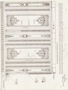 Petitsin from J. Home Ceiling, Ceiling Decor, Ceiling Design, Wall Design, Wall Molding, Moulding, Plaster Cornice, Classic Interior, Architecture Drawings