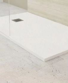 SLATE Slimline Shower Trays - Shower Trays - Shower Enclosures & Trays : SLATE White