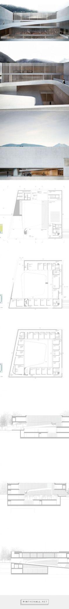 Aires Mateus + GSMM Architetti - Escuela de música en Italia (2014)