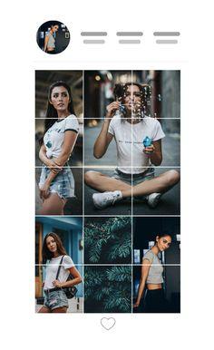 Instagram Design, Instagram Feed Theme Layout, Insta Layout, Instagram Square, Instagram Grid, Instagram Layouts, Organizar Instagram, Feed Insta, Maila