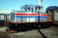 (45 Ton).  Amtrak #7 45 Ton Beech Grove Shop Switcher. Diesel, Beech Grove, Electric, Rail Car, Old Trains, Rolling Stock, Jazz Age, Train Rides, Heavy Equipment