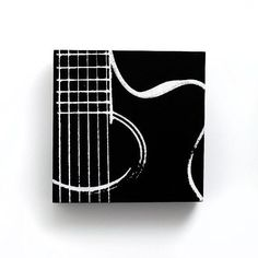 paint guitar on wall - Google Search