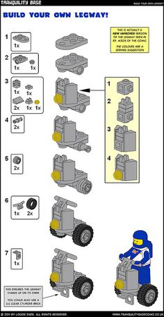Legway Instructions by LouiseDade, via Flickr