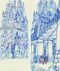 Art Models: Les Triplettes de Belleville / The Triplets of Belleville - Backgrounds