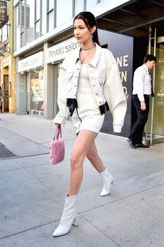 Bella Hadid's Bag May Be Impractical, But It's Definitely Cute+#refinery29