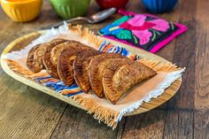 Black bean plantain empanadas