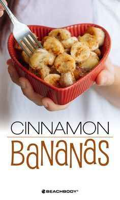 This simple banana recipe is like a lower-calorie riff on bananas flambe. This version enhances the already-sweet nature of ripe bananas through caramelization and a touch of honey to add a sweet crust to the warmed fruit slices. Get the recipe here! // healthy recipes // desserts // snacks // treats // cheat clean // quick and simple // low calorie // fruit // Beachbody // BeachbodyBlog.com