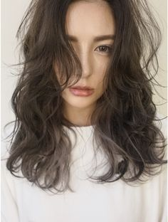 When you care for your hair your whole life changes. Good hair tells other people that you are put together. Long Hair Cuts, Wavy Hair, Curly Asian Hair, Permed Hairstyles, Cool Hairstyles, Medium Hair Styles, Curly Hair Styles, Hair Images, Grunge Hair