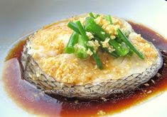 Annielicious Food: Hong Kong Style Steamed Cod Fish (港蒸鳕鱼)