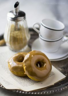 Pumpkin Spice Latte Donuts... yes PSL!