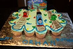 Tommy's is the train cupcake party ideas