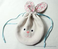 This pattern includes simple instructions on how to make a lovely, drawstring Bunny Pouch – perfect for Easter treats, or as a gift for someone special. Made with small scraps and simple sewing, this is a great, quick project for new, or more experienced sewers. Once purchased, this pattern can be downloaded and includes step-by-step instructions, lots of photographs of each step and a printable template.