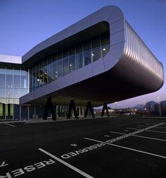 AECCafe.com - ArchShowcase - Automotive Intelligence Center in Etxano, Spain by ACXT Architects