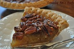 ~Pecan Pie~ A recipe so simple, you won't be believe how easy it can be! Sweet and yummy, it's the best recipe I've found.