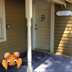 Be like Paras. Be sure to visit Guy House when you're in Lakeview Park! Two entrances into the Galleries, including the accessible entrance.  #oshawamuseum #oshawamuseum #lakeviewpark #pokemongo #pokemuseum
