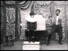 The Famous Box Trick (1898) - Georges Melies | Méliès performs multiple tricks based around his magic box via the use of stop-cut replacement editing.