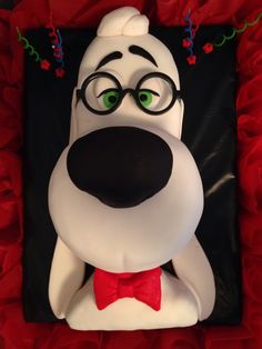 Mr Peabody and Sherman cake