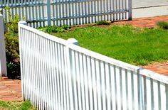 Fence Pictures: Fence Pictures: Baluster Fences With Top Rails