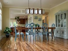 Browse photos and tell us which DIY Network Blog Cabin dining room you like the most.