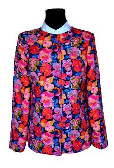 #Blazer style #Jacket in #LibertyLondon twill fabric #SewLiberty