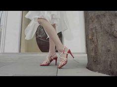 Crossover straps fashion sandal - YouTube Ballet Shoes, Dance Shoes, Crossover, Women's Fashion, Sandals, Youtube, Ballet Flat, Dancing Shoes, Slide Sandals