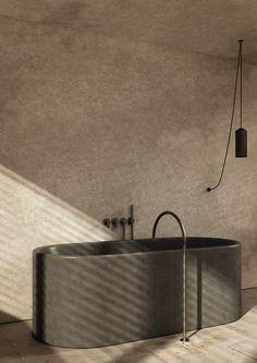 Pawson bath tub with COCOON tap ware John Pawson bath tub with COCOON tap wareJohn Pawson bath tub with COCOON tap ware Holz, schlicht, schön Tux 36 Residência FB John Pawson, Luxury Bathtub, Bathroom Design Luxury, Bath Design, Black Bathroom Taps, Bad Styling, Marble Bath, Inspiration Design, Bathroom Inspiration