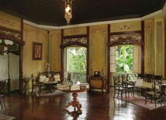 Taal's house: history made interesting inquirer lifestyle. Filipino Architecture, Philippine Architecture, Living Room Wallpaper Hd, Style At Home, Interior Design Living Room, Living Room Designs, Living Rooms, Filipino Interior Design, Filipino House