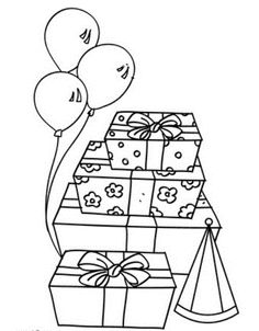 printable birthday coloring pages birthday coloring pages