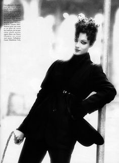 ☆ Shalom Harlow | Photography by Max Vadukul | For Vogue Magazine France | October 1993 ☆ #Shalom_Harlow #Max_Vadukul #Vogue #1993