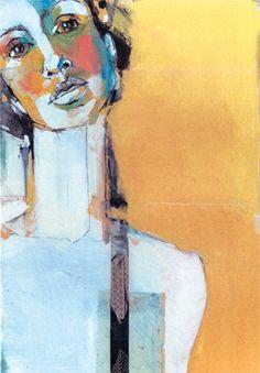 beautiful self portrait by artist