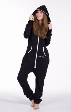 Free shipping one piece jumpsuit adult onesies zip hoodie-in Jumpsuits & Rompers from Apparel & Accessories on Aliexpress.com | Alibaba Group