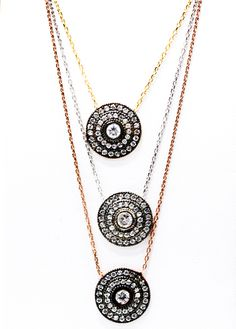 Beautiful new necklaces have arrived; The perfect gift for the Holidays!