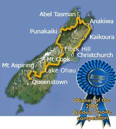 New Zealand!!  Xtreme Rimu- 14 day South Island Adventure Trip