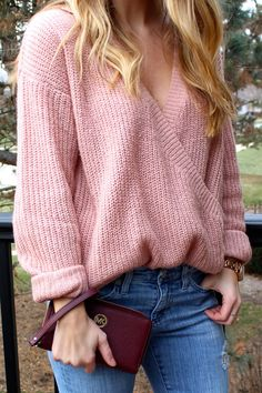 Blushing Over This Sweater