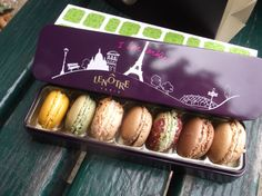 We bought macaron at Lenotre!  Exquisite!