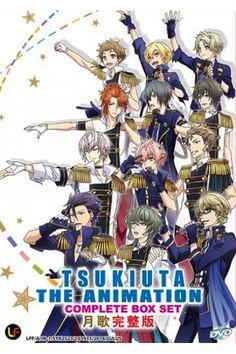 Tsukiuta The Animation Vol.1-13End Anime DVD