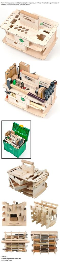 German Carpenter's Toolbox - Toptainer
