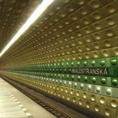 Malostranska Station, Prague Metro Prague, Architecture, Amazing, Places, Design, Decor, Arquitetura, Decoration, Lugares