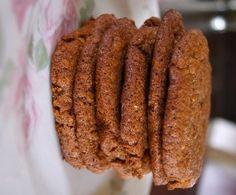 Suikervrije en tarwevrije Bastogne koeken met rijstmeel