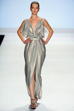 1. Draped gown; Bert Keeter, Spring 2012 (Greece)