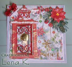 Christmas Card with MD LR0190 Lantern