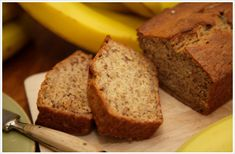 Need banana bread recipes? Get easy to make banana bread recipes for your next meal or gathering. Taste of Home has lots of great banana bread recipes including low fat banana bread, chocolate chip banana bread, and more banana bread recipes. Low Fat Banana Bread, Gluten Free Banana Bread, Healthy Banana Bread, Banana Bread Recipes, Moistest Banana Bread Recipe, Yogurt Recipes, Healthy Protein, Baking Recipes, Easy Recipes