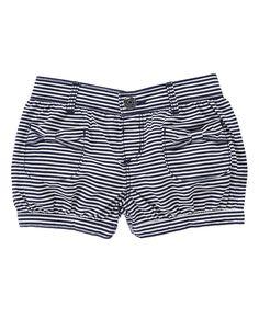 Striped Bubble Shorts