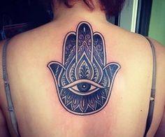 Tattoo's For > Hamsa Tattoo