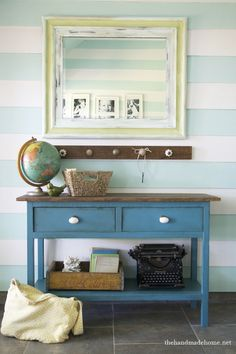The whole thing!  The picture frame, the knob hanger, the hutch....loves.