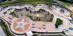 Largest Public Skatepark in the USA - Flyover Tour - Ride BMX