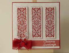 Festive Collection – Snowflake Mini Striplet Die Challenge