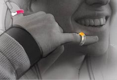 Color Rings Wireless Cellphone concept #tech