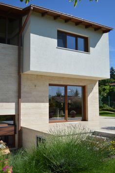travertine surfaces Travertine, Garage Doors, Houses, Outdoor Decor, Home Decor, Homes, Decoration Home, Room Decor, House