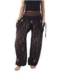 Shop a great selection of Lannaclothesdesign Women's Smocked Waist Boho Flowy Yoga Harem Pants. Find new offer and Similar products for Lannaclothesdesign Women's Smocked Waist Boho Flowy Yoga Harem Pants. Bohemian Pants, Bohemian Style Clothing, Hippie Pants, Hippie Boho, Hippie Clothing, Cowgirl Clothing, Cowgirl Fashion, Ethnic Jewelry, Bohemian Jewelry